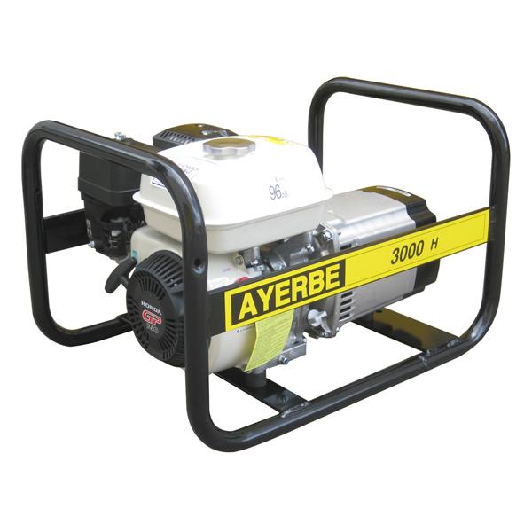 Ay 3000 h mn generador el ctrico ayerbe motor honda - Generadores de gasolina ...