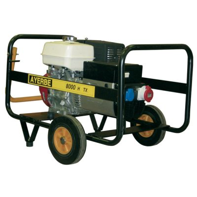 AY-8000 H TX Generador Eléctrico Ayerbe Motor Honda