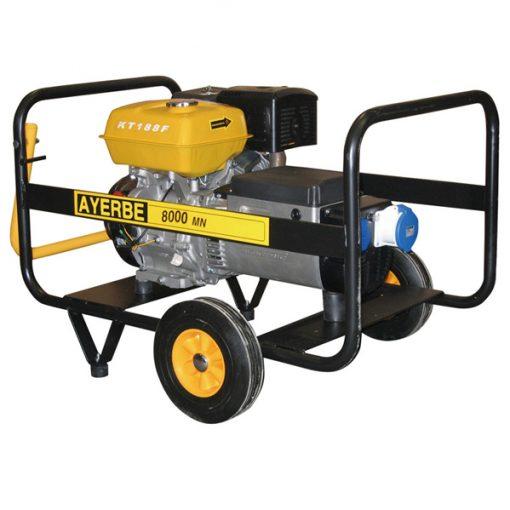 AY-8000 KT MN Generador Eléctrico Ayerbe Motor Kiotsu Gasolina