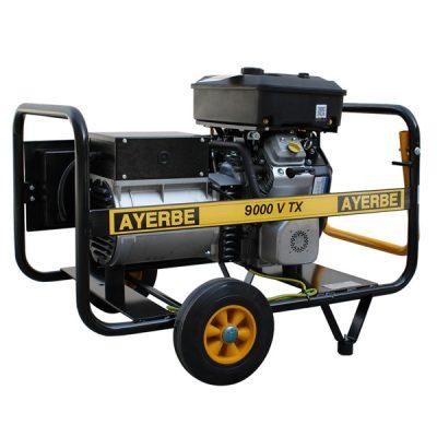 AY-9000 V TX Generador Eléctrico Ayerbe Motor Vanguard