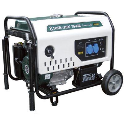 ENER-GEN 7500 E Generador Sistema AVR Ayerbe Motor Kiotsu