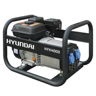 HYK4000 Generador Hyundai Gasolina Serie Rental Monofásico