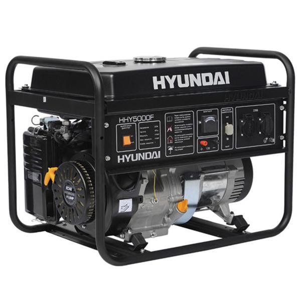Hhy5000f generador el ctrico hyundai motor gasolina serie - Generadores electricos de gasolina ...