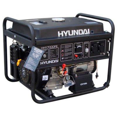 HHY7000FE Generador Hyundai Gasolina Serie Home Monofásico