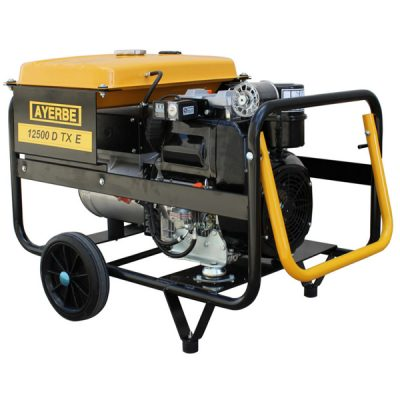 AY-12500 D LB TX Generador Eléctrico Ayerbe Motor Lombardini