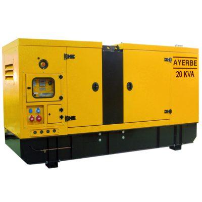AY-1500-20 TX OIL Grupo Electrógeno Insonorizado Ayerbe Motor Deutz