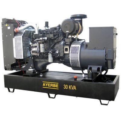 AY-1500-30 IVECO Grupo Electrógeno Abierto Ayerbe Motor Iveco