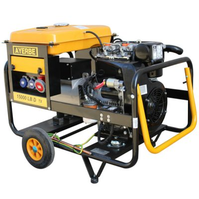 AY-15000 D LB MN Generador Eléctrico Ayerbe Motor Lombardini Diésel