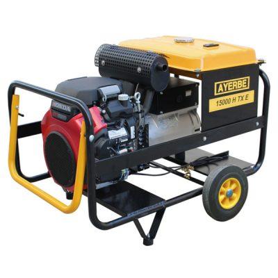 AY-15000 H TX E Generador Eléctrico Ayerbe Motor Honda