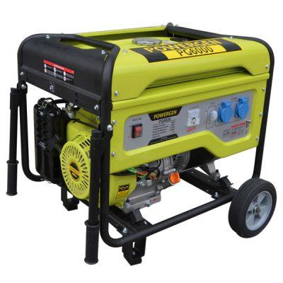 POWER-GEN PG6000 Generador Sistema AVR Ayerbe Motor Kiotsu