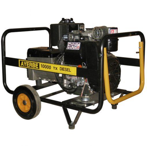 AY-10000 D LB TX Generador Eléctrico Ayerbe Motor Lombardini Diésel