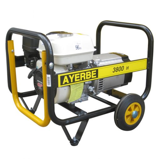 AY-3800 H MN Generador Eléctrico Ayerbe Motor Honda