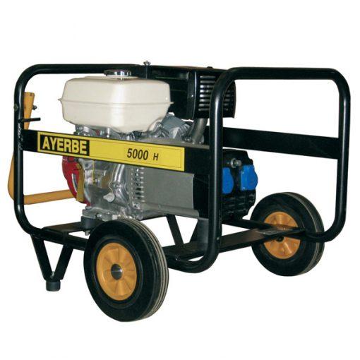 AY-5000 H MN Generador Eléctrico Ayerbe Motor Honda