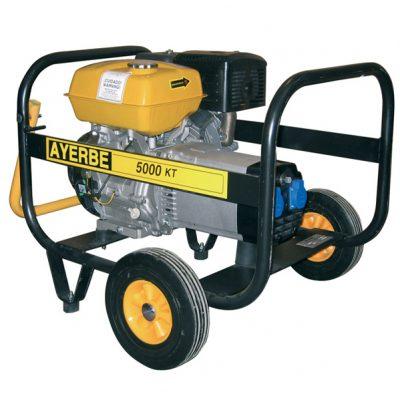 AY-5000 KT MN Generador Eléctrico Ayerbe Motor Kiotsu Gasolina