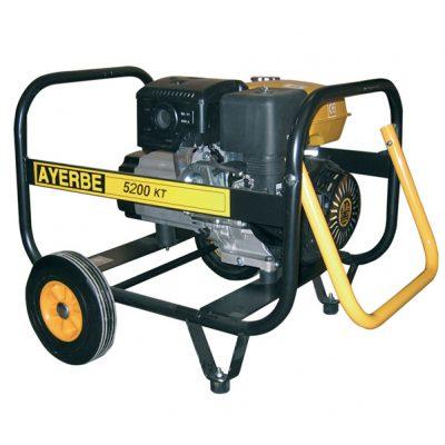 AY-5200 KT TX Generador Eléctrico Ayerbe Motor Kiotsu Gasolina