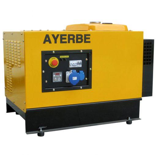 AY-6000 AVR H INS E Generador Insonorizado Ayerbe Motor Honda