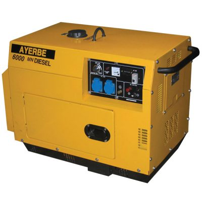 AY-6000 D INS E Generador Insonorizado Ayerbe Motor Yanmar