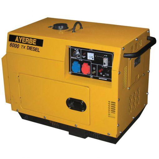 AY-6000 D INS TX E Generador Insonorizado Ayerbe Motor Yanmar
