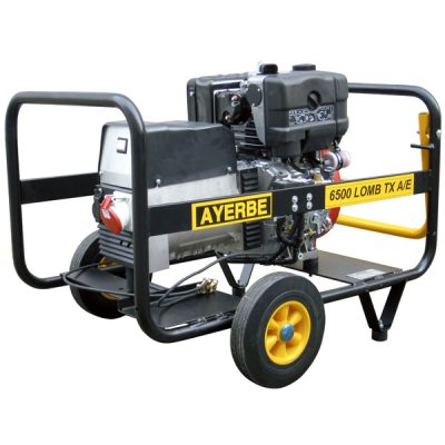 AY-6500 LB TX Generador Eléctrico Ayerbe Motor Lombardini Diésel