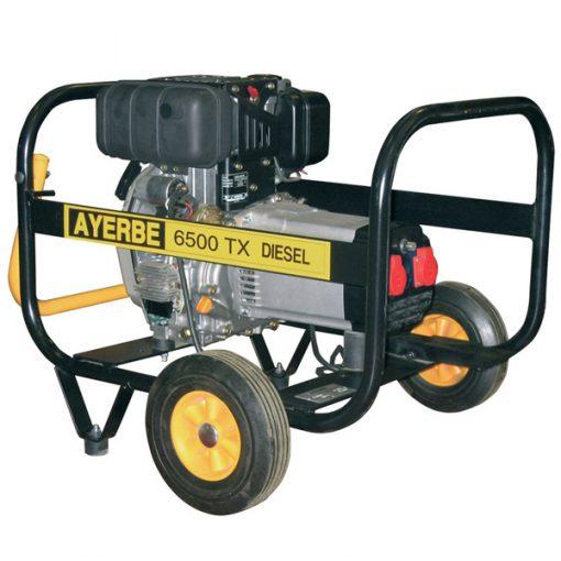 AY6500 TX Generador Eléctrico Motor Yanmar Diésel