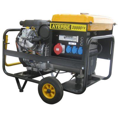 AY-20000 V TX E Generador Eléctrico Ayerbe Motor Vanguard