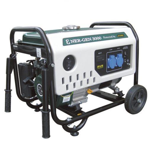 ENER-GEN 3000 Generador Sistema AVR Ayerbe Motor Kiotsu