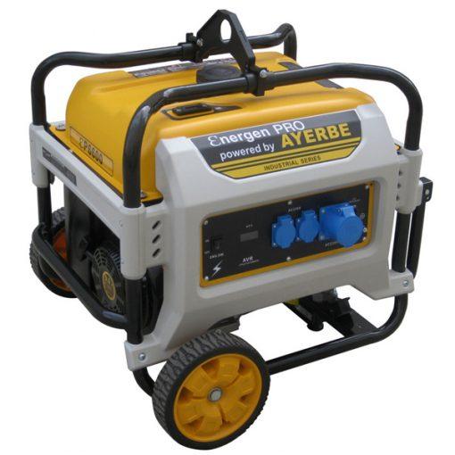 ENER-GEN PRO 6600 Generador Sistema AVR Ayerbe Motor Kiotsu