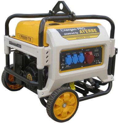 ENER-GEN PRO 8000 TX Generador Sistema AVR Ayerbe Motor Kiotsu
