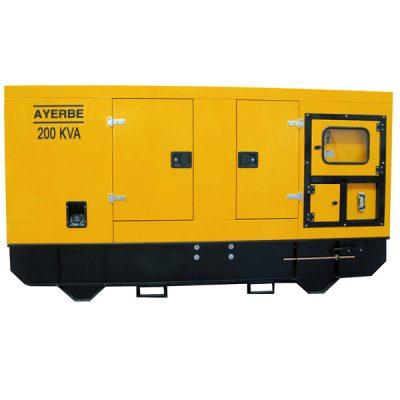 AY-1500-200 IVECO Grupo Electrógeno Insonorizado Ayerbe Motor Iveco