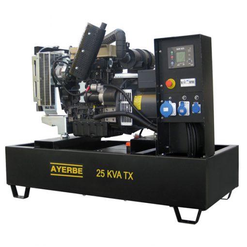 AY-1500-25 TX LOMB Grupo Electrógeno Abierto Ayerbe Motor Lombardini