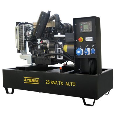 AY-1500-25 TX LOMB Grupo Electrógeno Abierto Ayerbe Motor Lombardini Automático