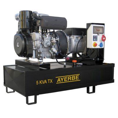 AY-1500-6 LA TX Grupo Electrógeno Abierto Ayerbe Motor Lombardin