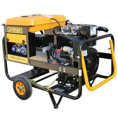 AY-15000 D LB TX Generador Eléctrico Ayerbe Motor Lombardini Diésel