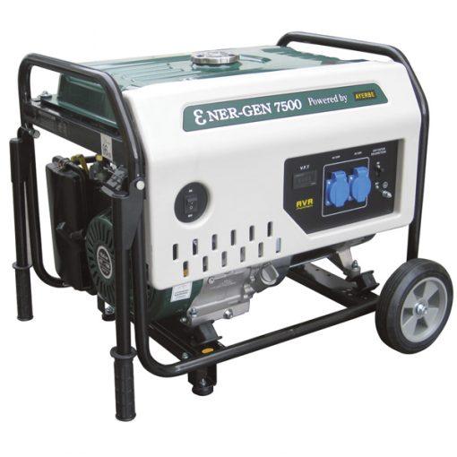 ENER-GEN 7500 Generador Sistema AVR Ayerbe Motor Kiotsu