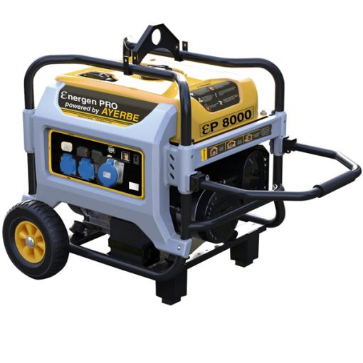 ENER-GEN PRO 8000 Generador Sistema AVR Ayerbe Motor Kiotsu