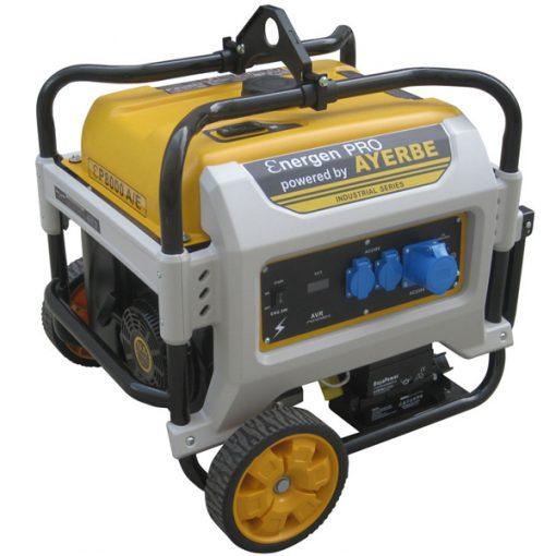 ENER-GEN PRO 8000 E Generador Sistema AVR Ayerbe Motor Kiotsu