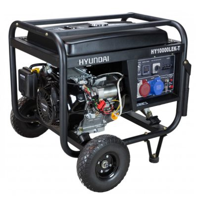HY10000LEK-T Generador Eléctrico Hyundai Motor Gasolina Serie PRO Salida Trifásica 9,4 KVA