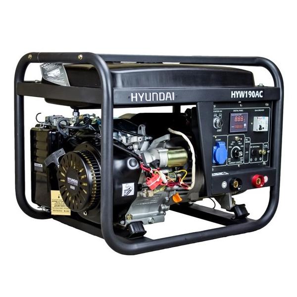 DHYW190AC Motosoldadora Hyundai Diésel
