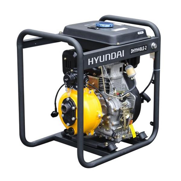 DHYH40LE-2 Motobomba Hyundai Diesel de Alta Presión