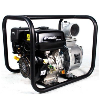 HY100 Motobomba Hyundai Gasolina para Aguas Limpias