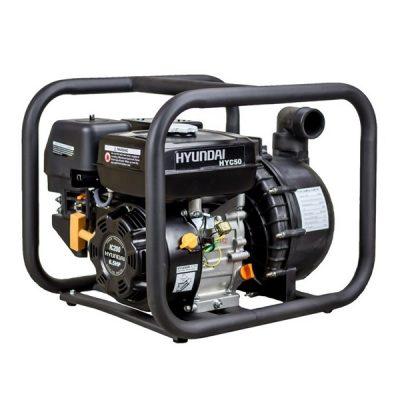 HYC50 Motobomba Hyundai Gasolina para Líquidos Corrosivos