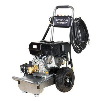 HYW4000P Hidrolimpiadora Hyundai Motor Gasolina Caudal 15L/min Agua Fría