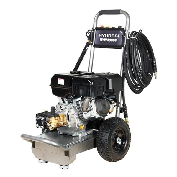 HYW4000P Hidrolavadora Hyundai Motor Gasolina Caudal 15L/min Agua Fría